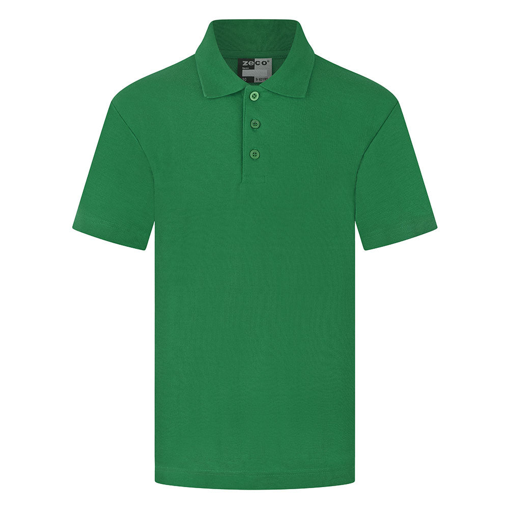 Emerald Green Unisex Polo Shirt