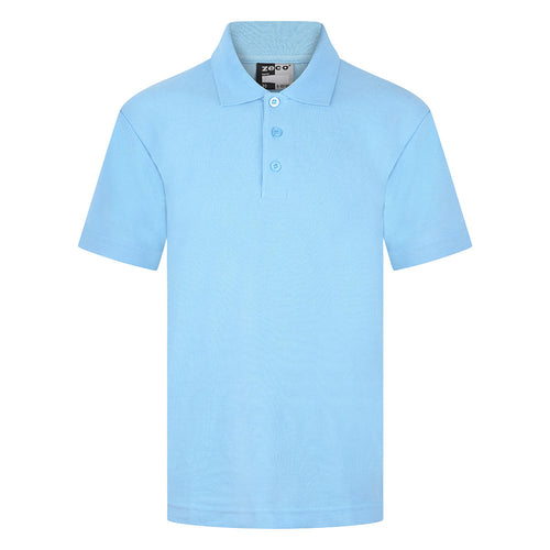 Sky Blue Unisex Polo Shirt