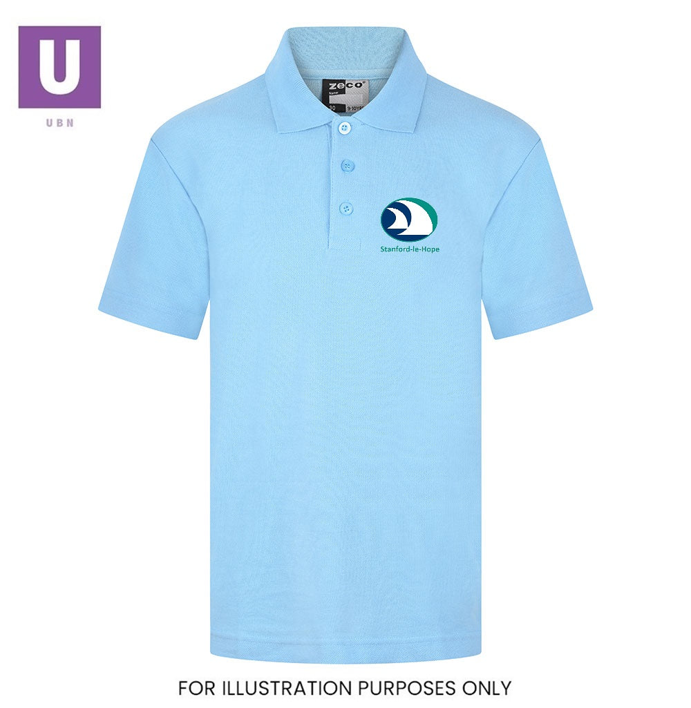 Stanford-le-Hope Primary Polo Shirt with logo
