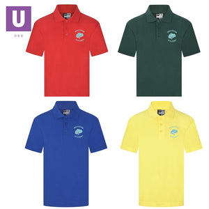 Woodside Academy Staff Polo Shirt with logo