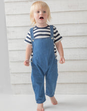 Load image into Gallery viewer, BabyBugz Baby Rocks Denim Dungarees