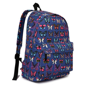 Butterfly Retro Backpack
