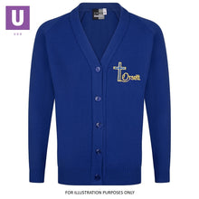 Load image into Gallery viewer, Orsett Primary Knitted Cardigan with logo