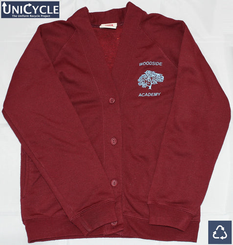 Pre-Loved Woodside Academy Sweatshirt Cardigan