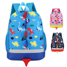 Load image into Gallery viewer, Children's Dinosaur Pattern Backpack