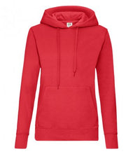 Load image into Gallery viewer, Red Classic Hooded Sweatshirt