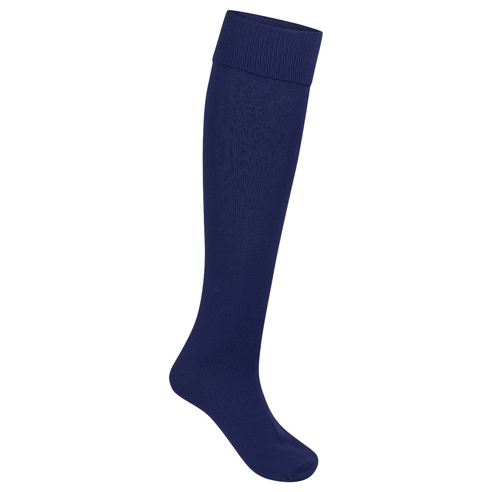 Navy Blue Football Socks