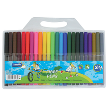 Load image into Gallery viewer, Lambo Colouring Fibre Pens (24pk)