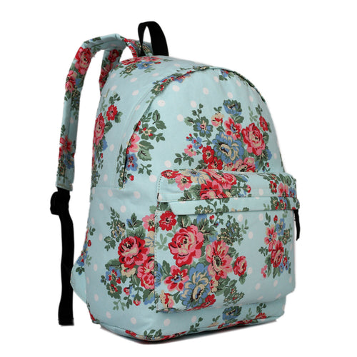 Floral Retro Backpack