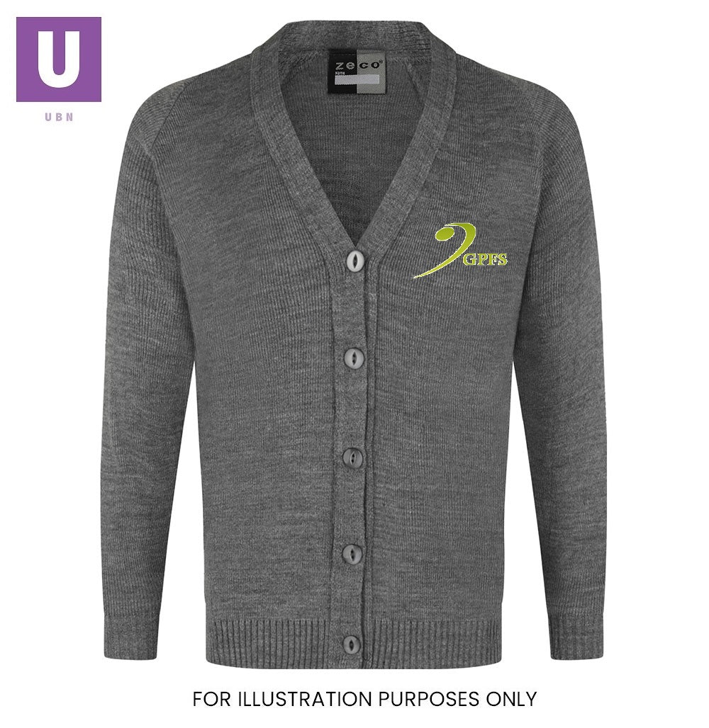 Gateway Primary Knitted Cardigan with logo