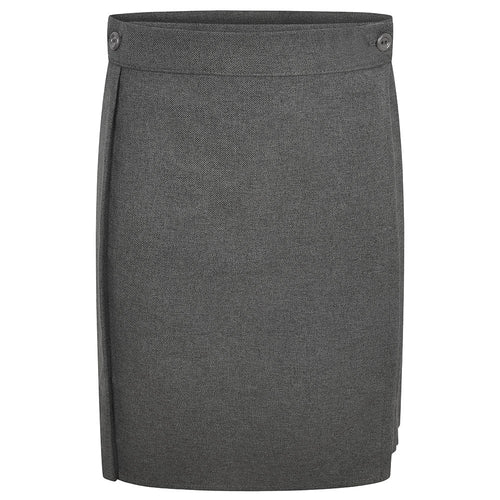 Girls Grey Kilt Skirt