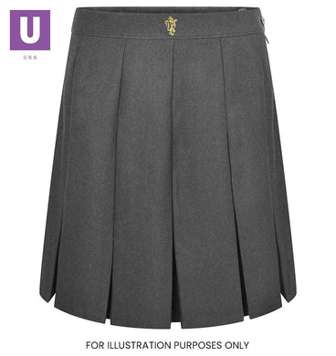 St Cleres Stitched Down Box Pleat Skirt