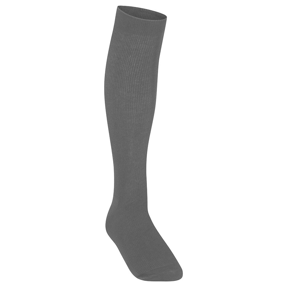 Girls Charcoal Knee High Socks (3PK)