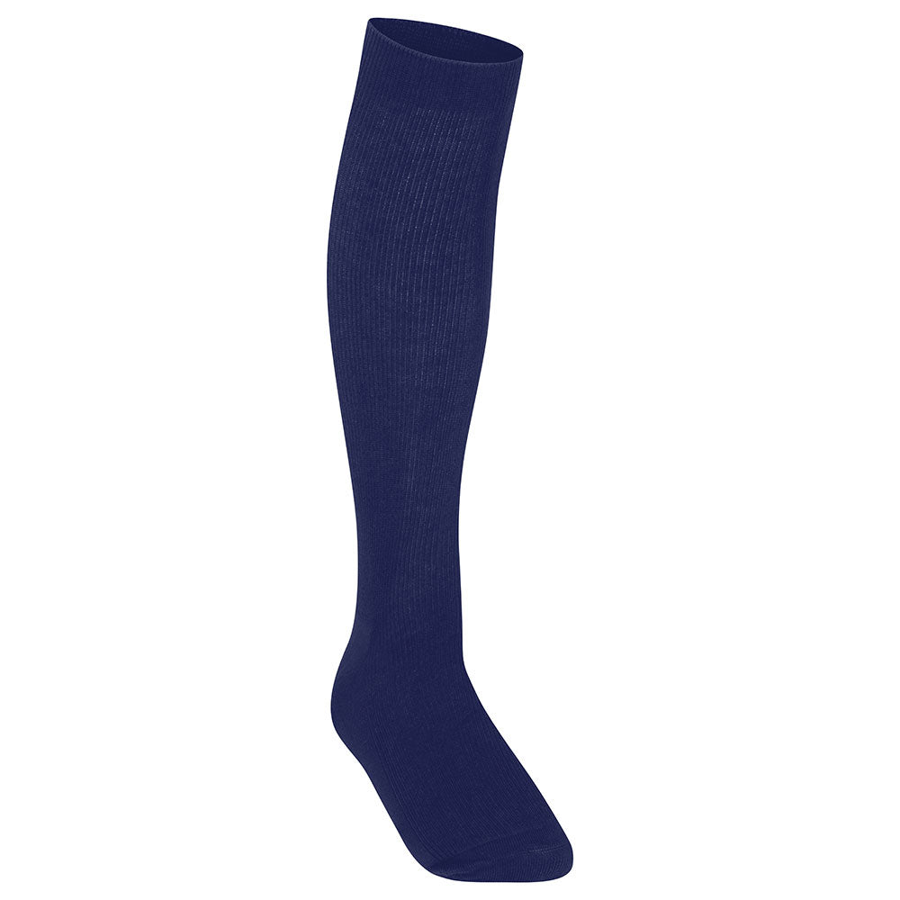Girls Navy Blue Knee High Socks (3PK)