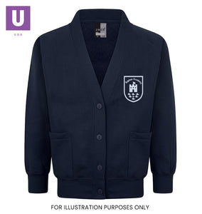 Bulphan Academy Sweatshirt Cardigan with logo