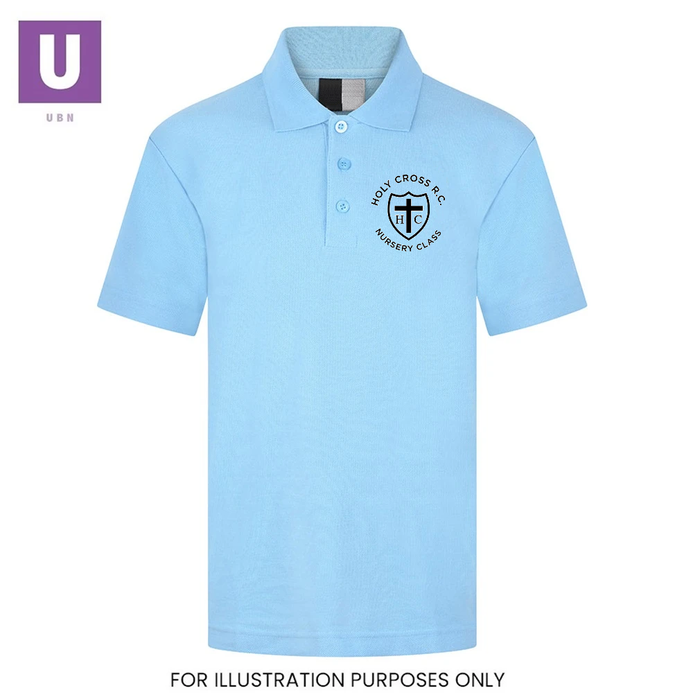 Holy Cross Nursery Polo Shirt with logo