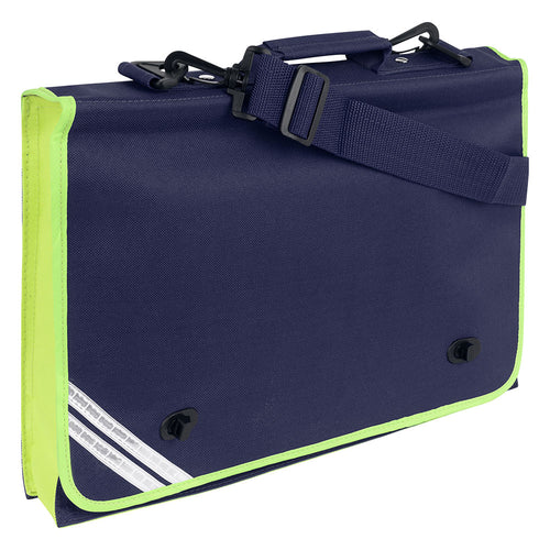 Navy Hi Viz Document Case