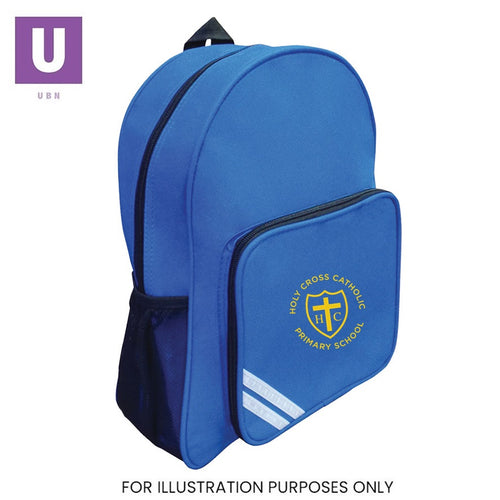 Holy Cross Primary Infant Backpack with logo