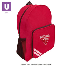 Herringham Primary Infant Backpack with logo