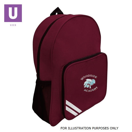 Woodside Academy Infant Backpack with logo