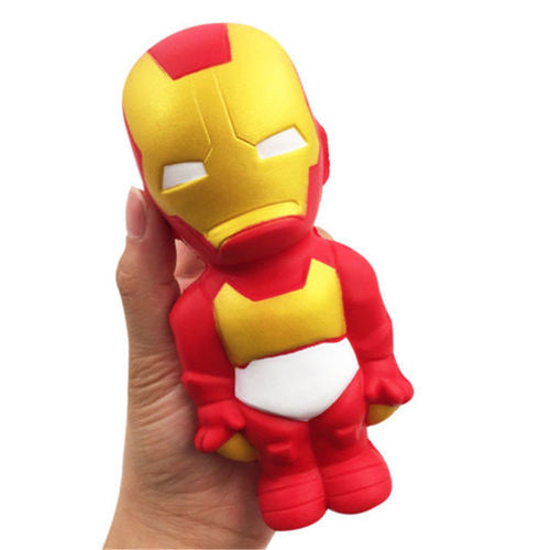 Squishy Iron Man Stress Relief Toy