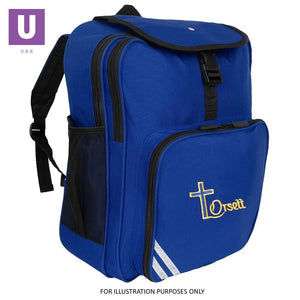 Orsett Primary Junior Backpack with logo