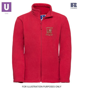 Horndon-on-the-Hill Primary Polar Fleece Jacket with logo