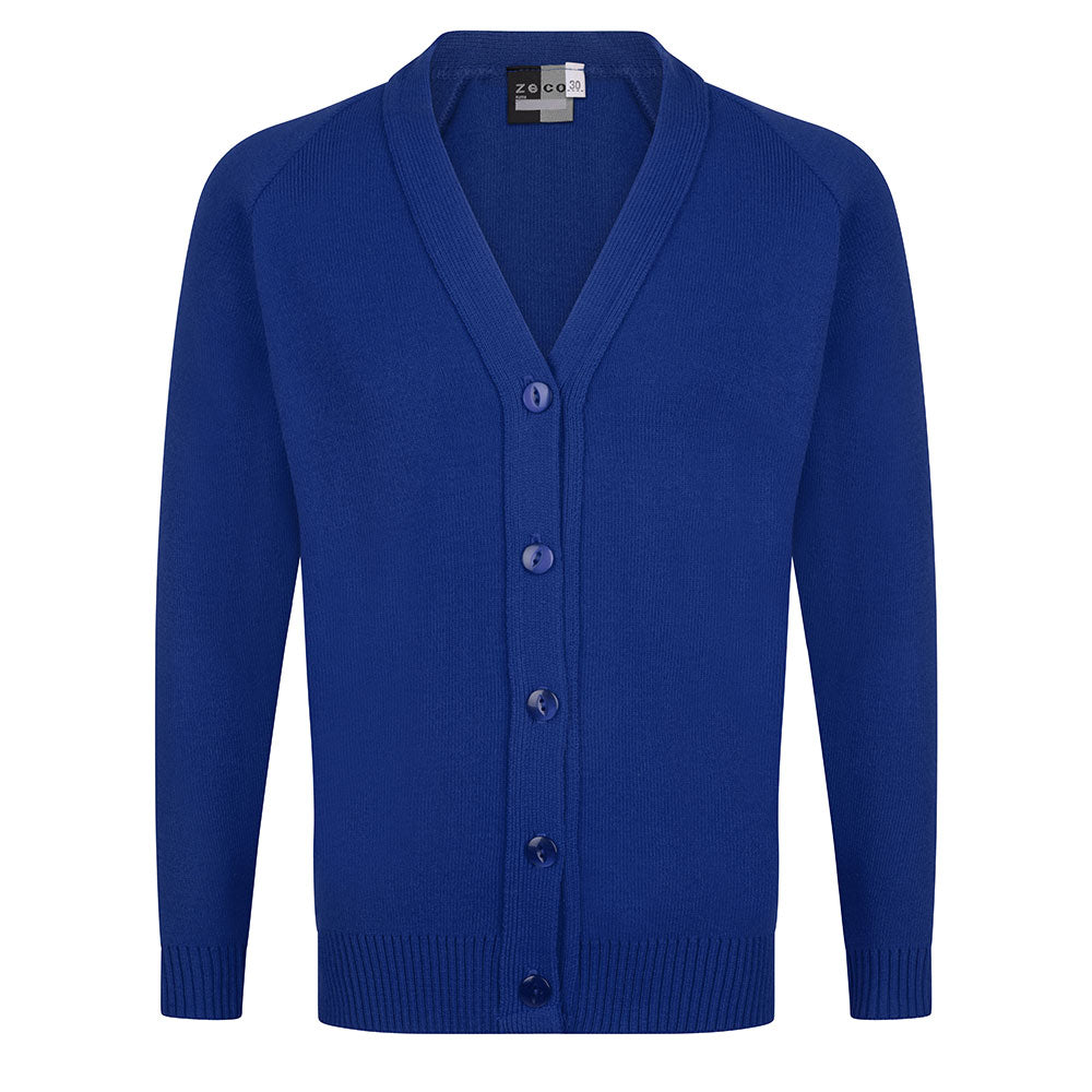 Royal Blue Knitted Cardigan