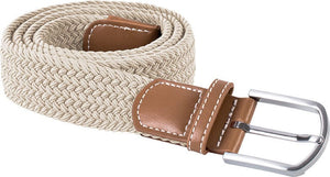 K-UP Braided Elasticated Belt