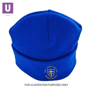 Holy Cross Primary Knitted Ski Hat with logo