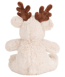 Mumbles Mini Light Brown Reindeer Plush Toy