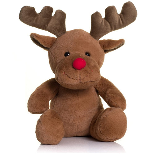 Mumbles Red Nose Reindeer Plush Toy