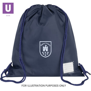 Bulphan Academy Premium P.E. Bag with logo
