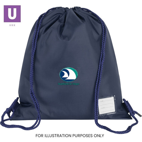 Stanford-le-Hope Primary Premium P.E. Bag with logo