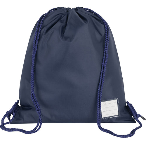 Navy School Premium Plain P.E. Bag
