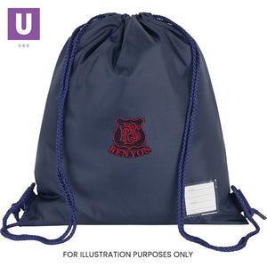 Benyon Primary Premium P.E. Bag with logo