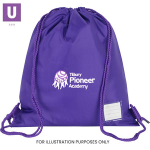 Tilbury Pioneer Premium P.E. Bag with logo