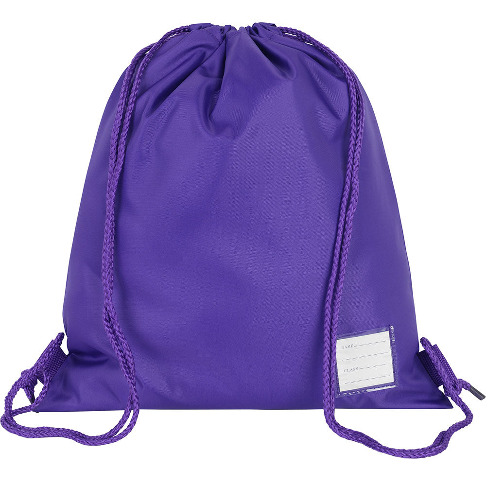 Purple Premium Plain P.E. Bag