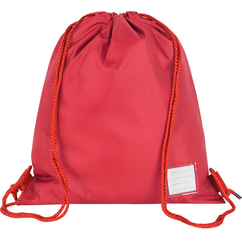 Red Premium Plain P.E. Bag
