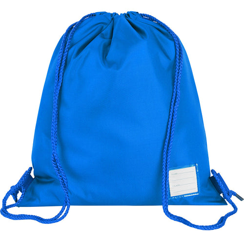 Royal Blue Premium Plain P.E. Bag