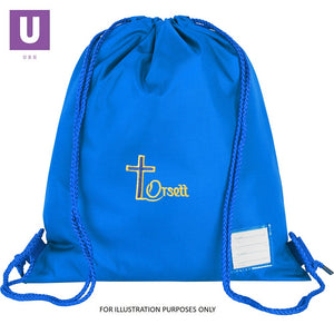 Orsett Primary Premium P.E. Bag with logo
