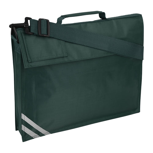 Bottle Green Premium Book Bag
