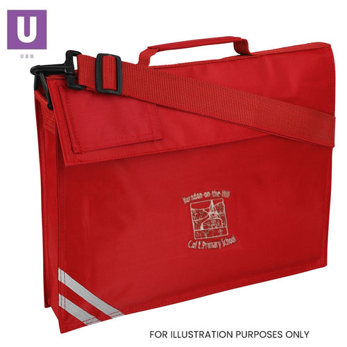 Horndon-on-the-Hill Primary Premium Book Bag with logo