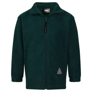 Bottle Green Polar Fleece Jacket
