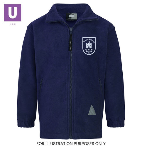 Bulphan Academy Polar Fleece Jacket with logo