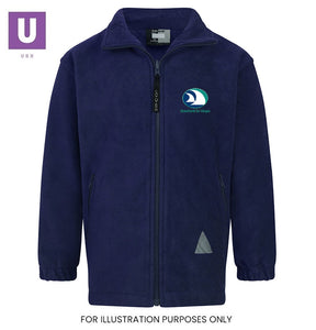 Stanford-le-Hope Primary Polar Fleece Jacket with logo