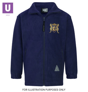 Stifford Clays Primary Polar Fleece Jacket with logo