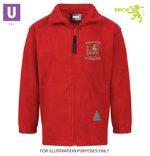 Load image into Gallery viewer, Horndon-on-the-Hill Primary Polar Fleece Jacket with logo