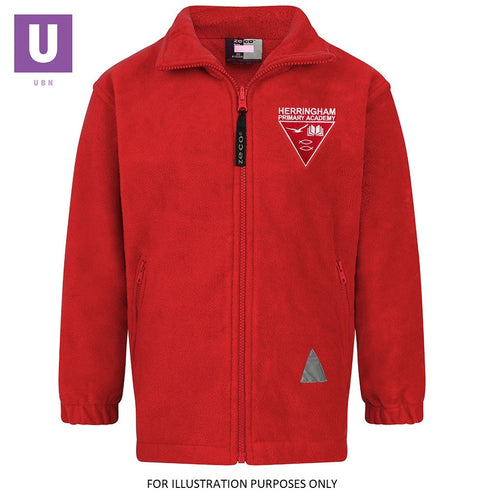Herringham Primary Polar Fleece Jacket with logo