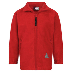 Red Polar Fleece Jacket